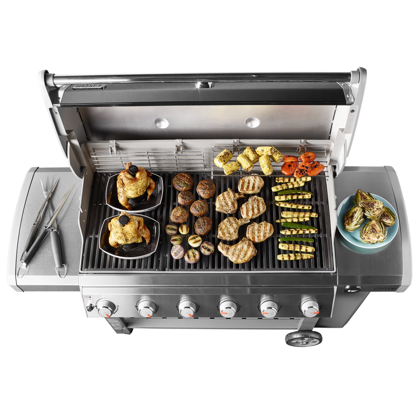 genesis ii e 610 gas grill weber grills wood pellets hardware long island. Black Bedroom Furniture Sets. Home Design Ideas