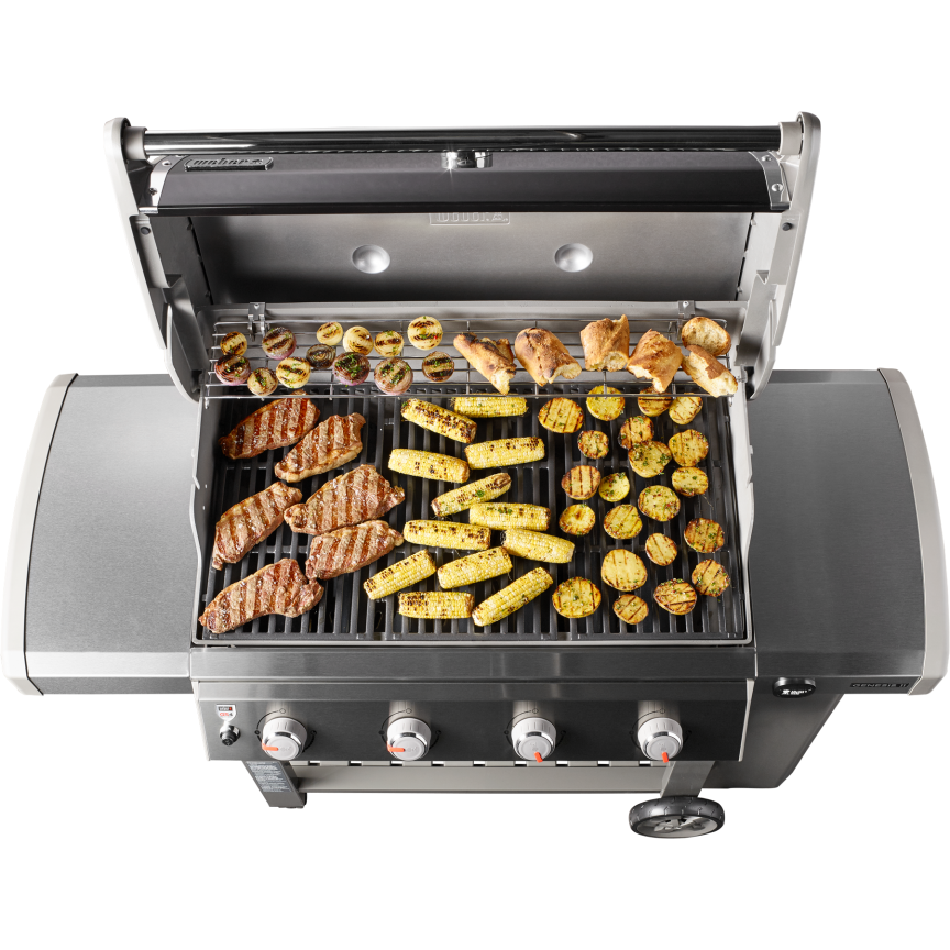 genesis ii e 410 gas grill weber grills wood pellets hardware long island. Black Bedroom Furniture Sets. Home Design Ideas