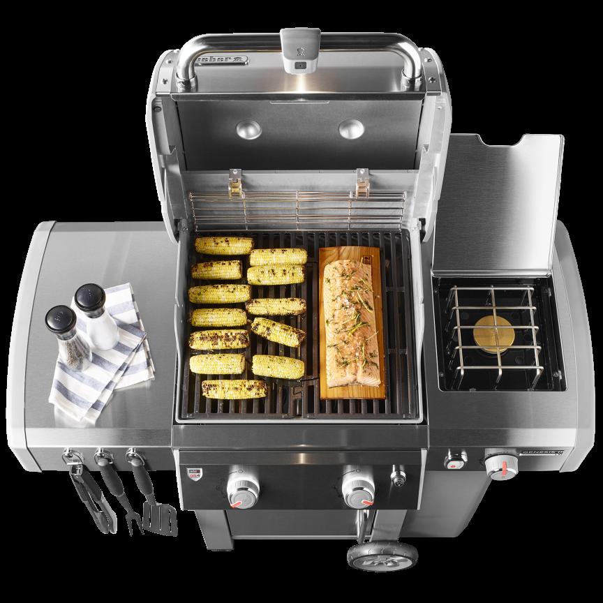 Genesis® II LX E-240 Gas Grill - Weber Grills, Wood Pellets