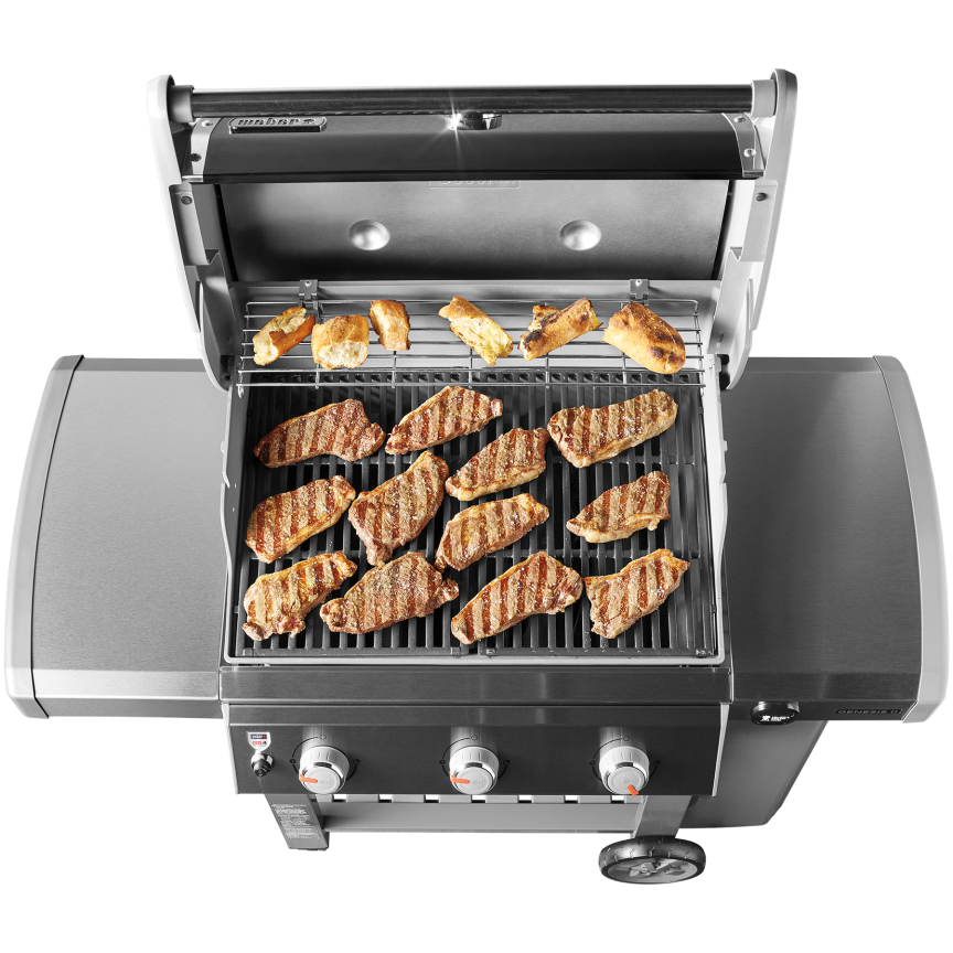 genesis ii e 310 gas grill weber grills wood pellets hardware long island. Black Bedroom Furniture Sets. Home Design Ideas