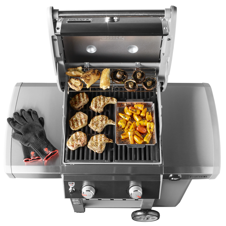 genesis ii e 210 gas grill weber grills wood pellets hardware long island. Black Bedroom Furniture Sets. Home Design Ideas