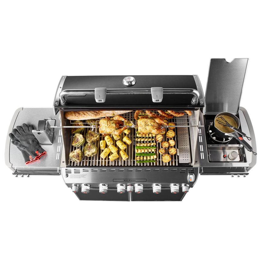 summit s 670 gas grill weber grills wood pellets. Black Bedroom Furniture Sets. Home Design Ideas