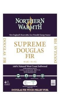 Northern Warmth Supreme Douglas Fir pellets