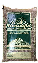 Barefoot Beautiful Wood Pellets Small Bags