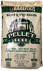 Barefoot Super Premium Wood Pellets