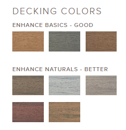 Trex Decking Colors >> Enhance Composite Decking Weber Grills Wood Pellets